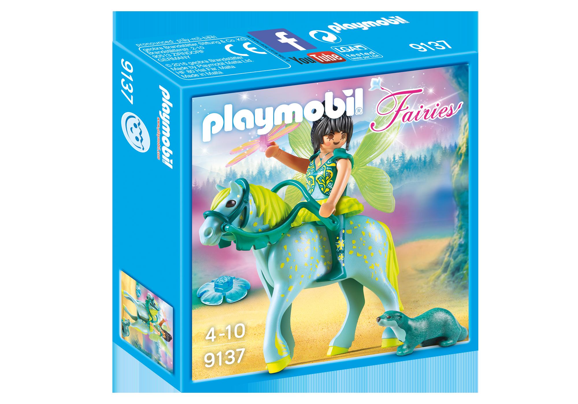 """http://media.playmobil.com/i/playmobil/9137_product_box_front/Wasserfee mit Pferd """"Aquarius"""""""