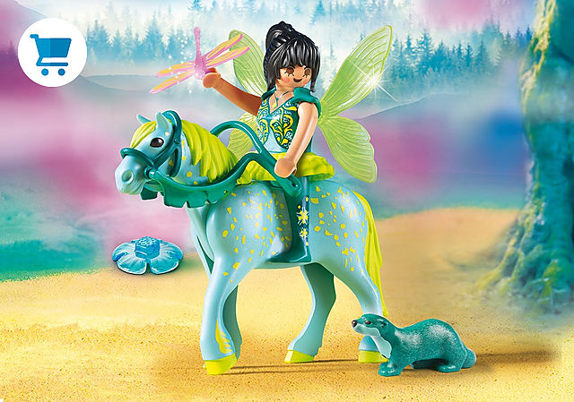 9137_product_detail/Enchanted Fairy with Horse