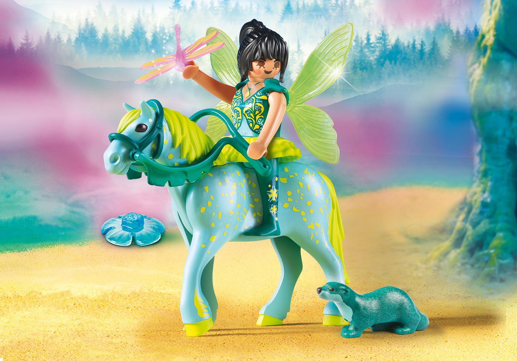 """http://media.playmobil.com/i/playmobil/9137_product_detail/Wasserfee mit Pferd """"Aquarius"""""""