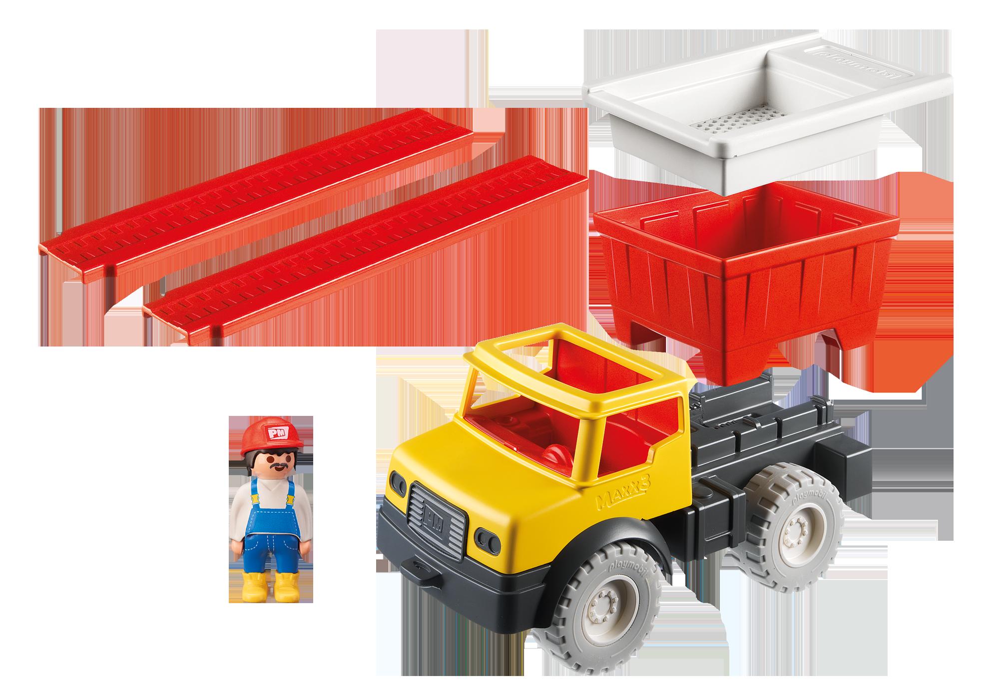http://media.playmobil.com/i/playmobil/9142_product_box_back/Dump Truck