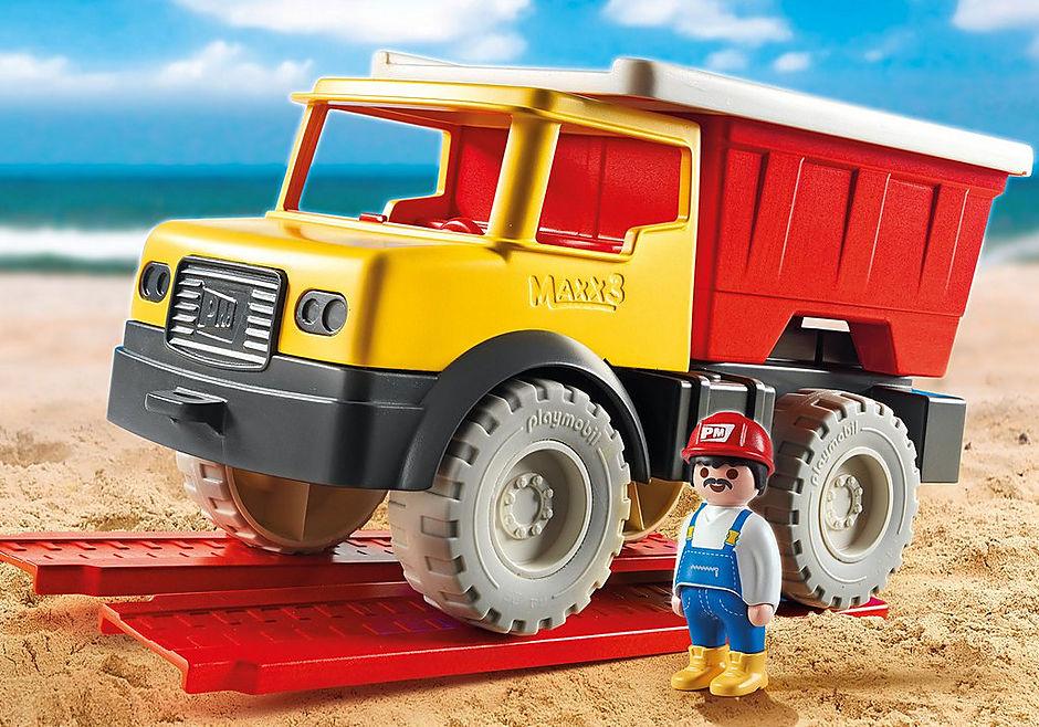 9142 Camion tombereau avec seau detail image 1