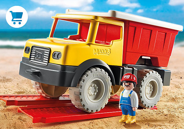 9142_product_detail/Camion tombereau avec seau