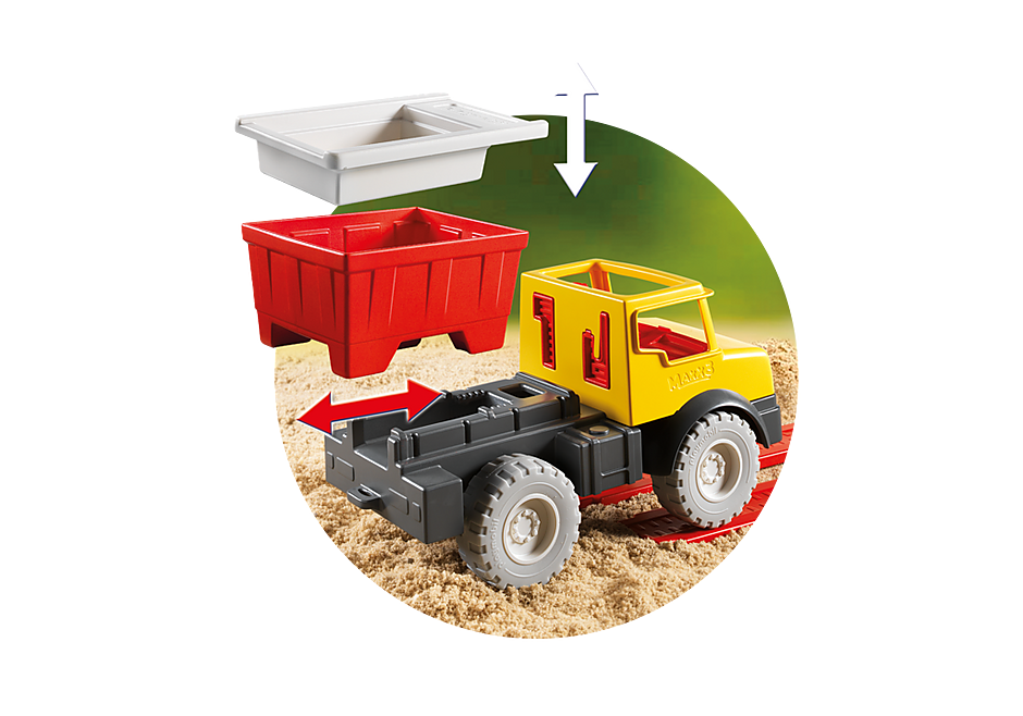9142 Dump Truck detail image 6