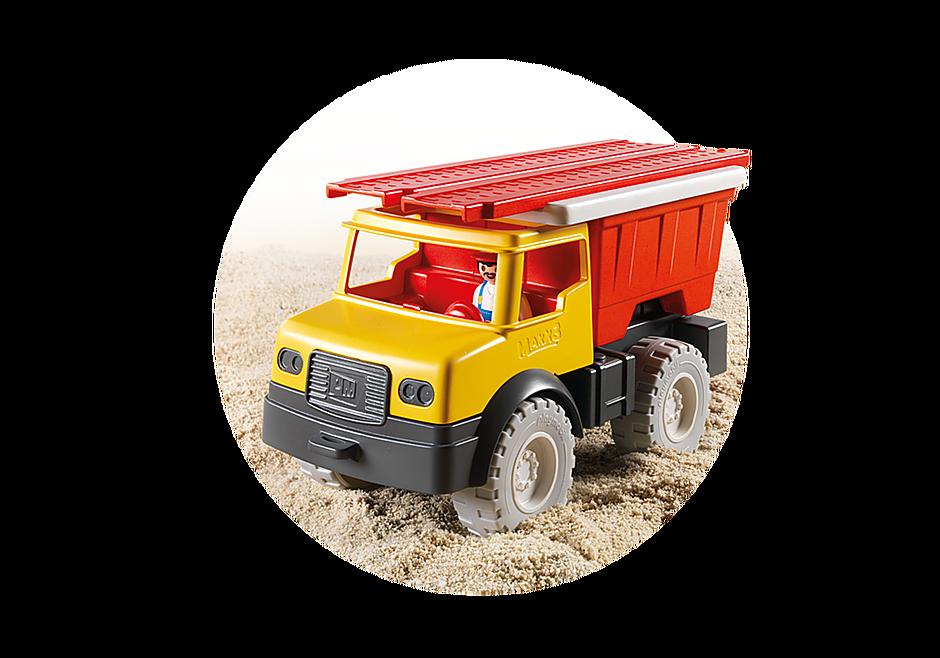 9142 Camion tombereau avec seau detail image 8