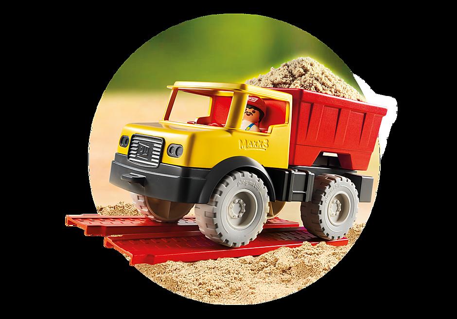 9142 Camion tombereau avec seau detail image 10