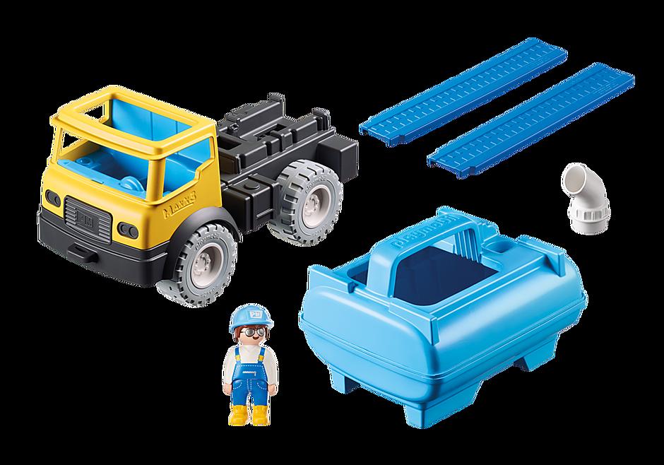 9144 Vrachtwagen met watertank detail image 5