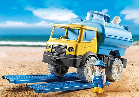 9144 Camion con cisterna per acqua