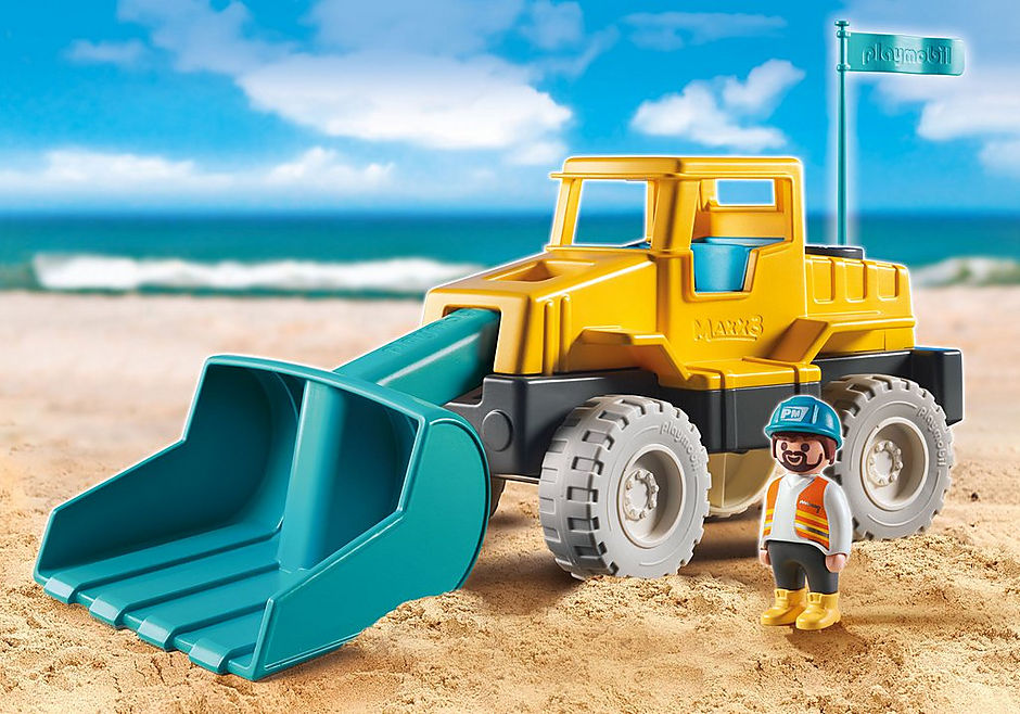 9145 Excavator detail image 1