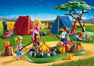 9153_product_detail/Camp Site with Fire