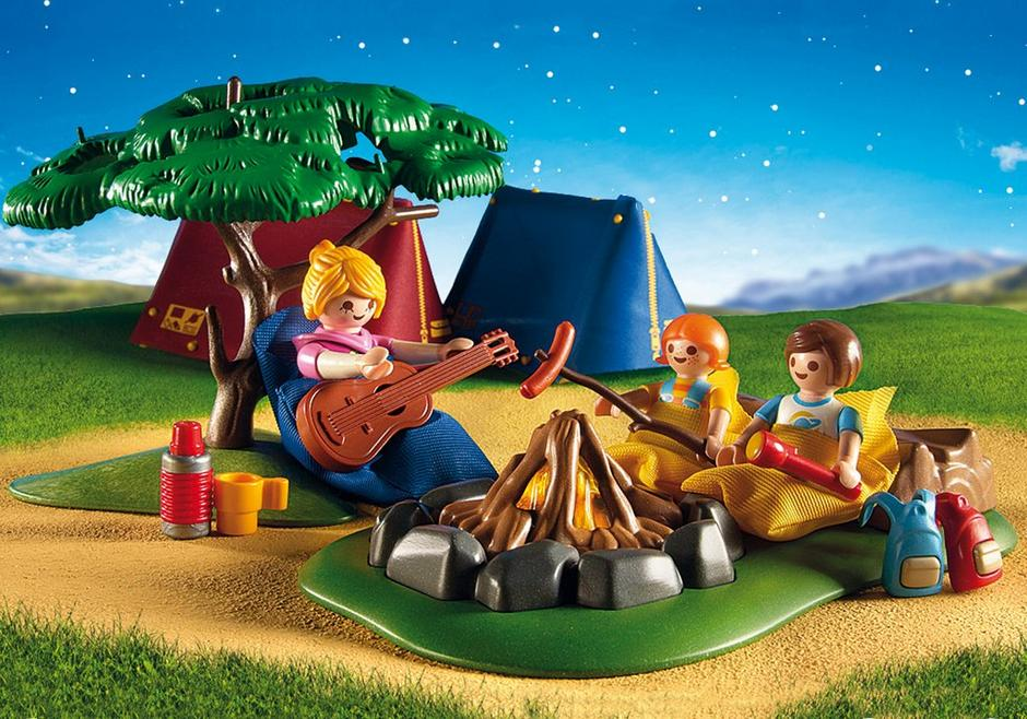 Camp Site With Fire 9153 Playmobil 174 Usa