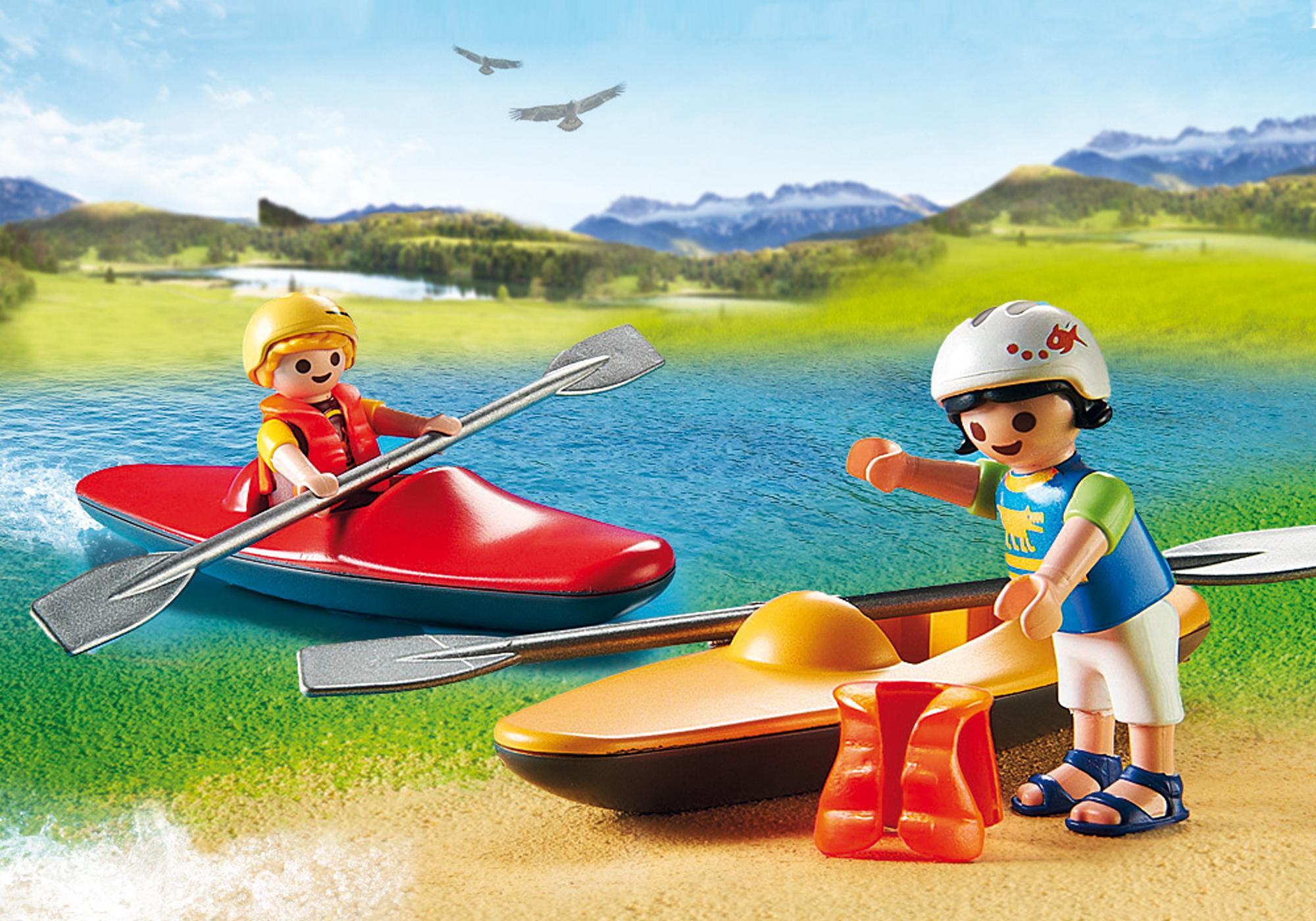 http://media.playmobil.com/i/playmobil/9154_product_extra1/Vehículo 4X4 con Canoa