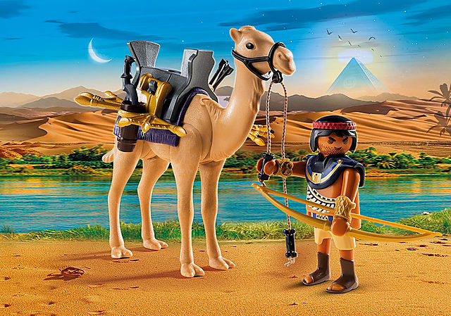 9167_product_detail/Egyptian Warrior with Camel