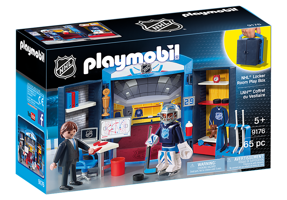 9176 NHL® Locker Room Play Box detail image 2