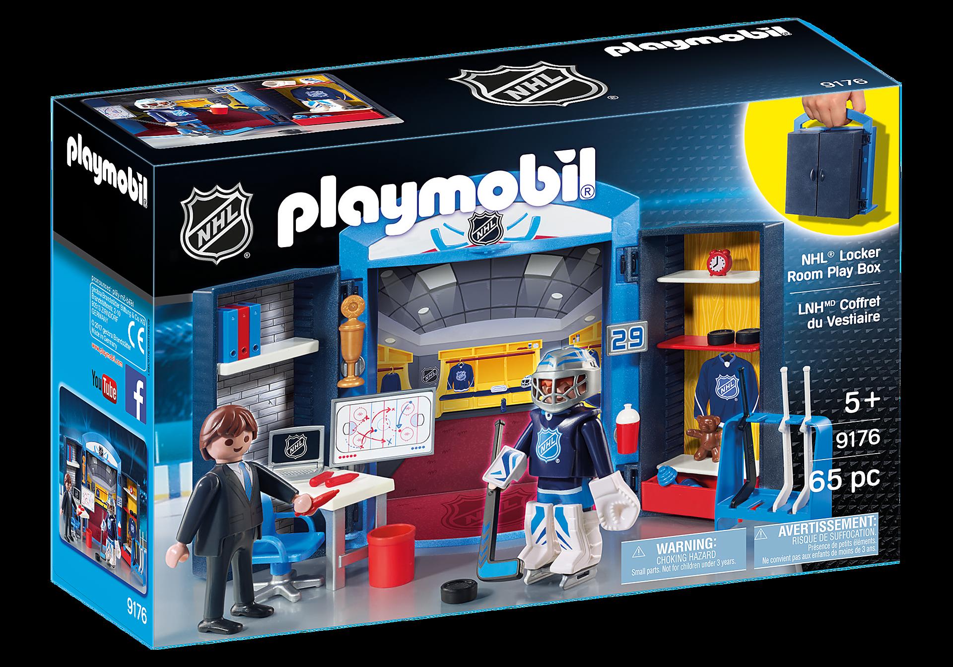 9176 NHL® Locker Room Play Box zoom image2