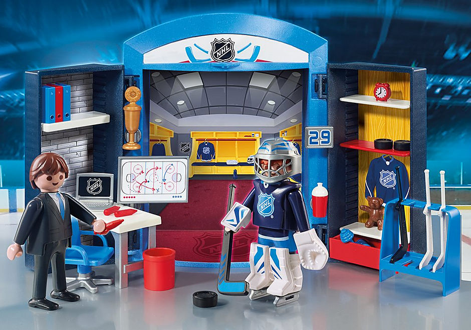 9176 NHL™ Locker Room Play Box detail image 1