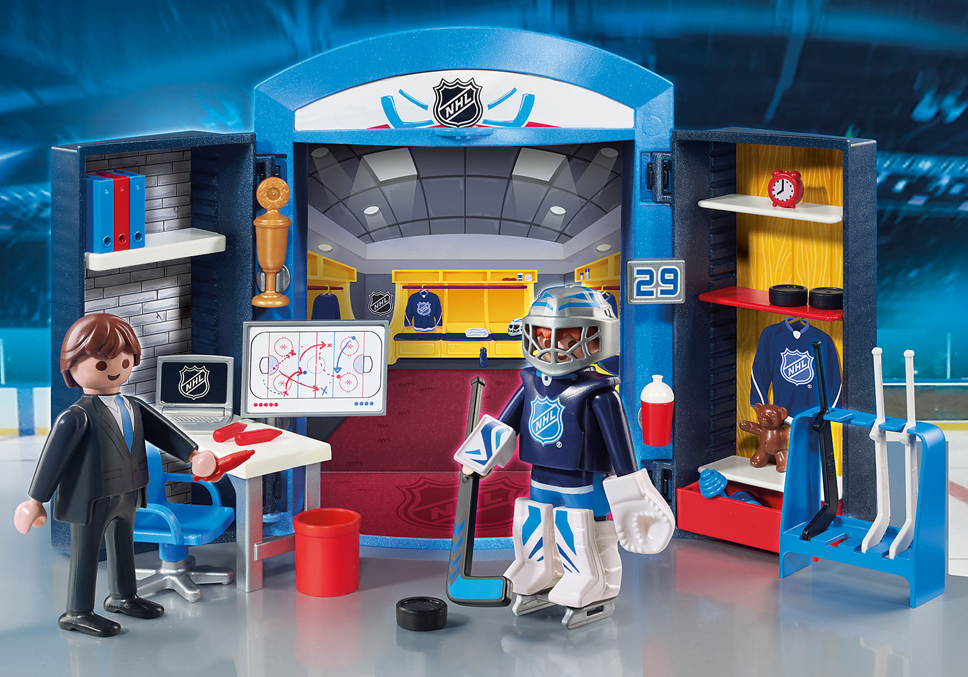 9176 NHL™ Locker Room Play Box zoom image1