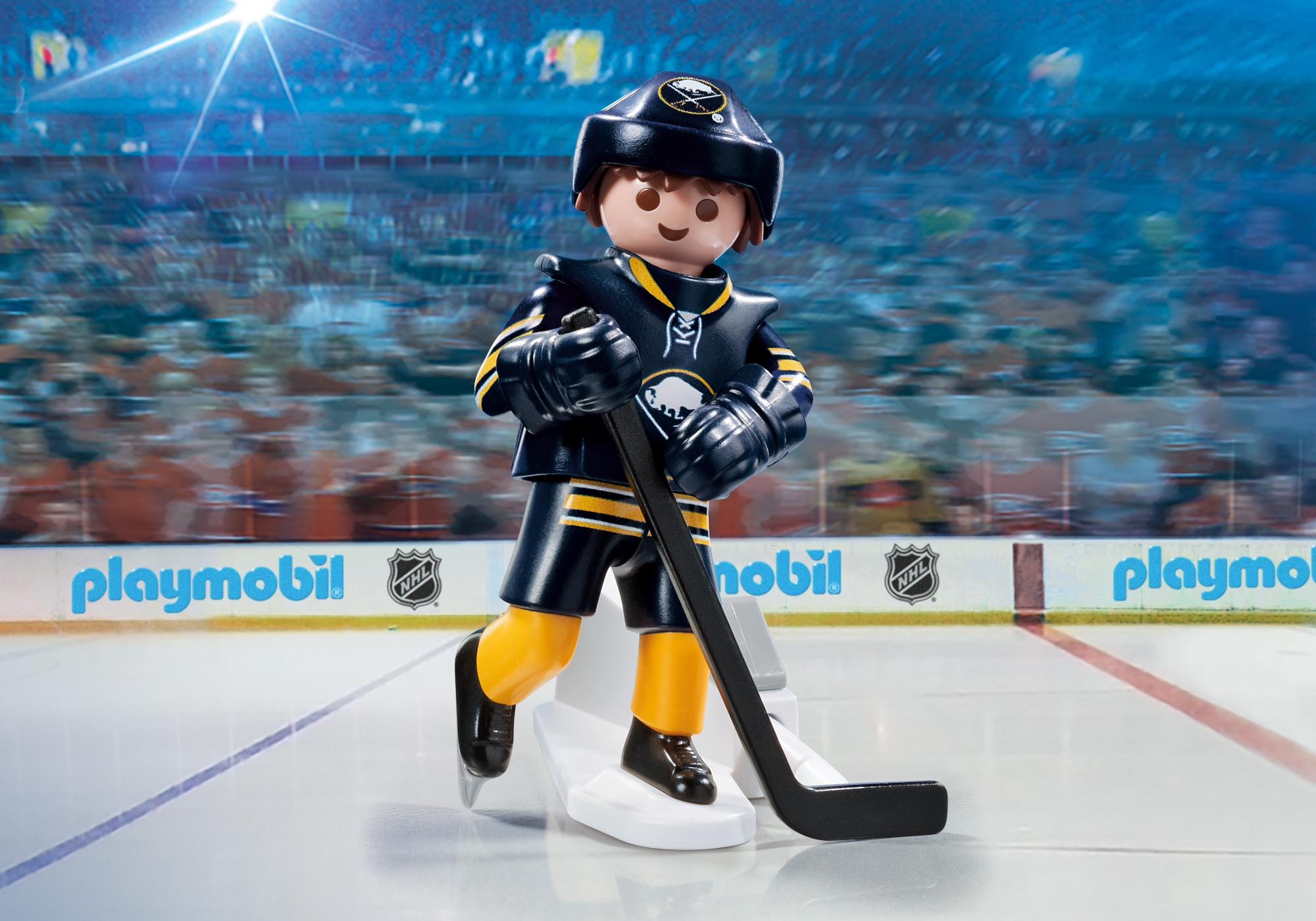 graphic regarding Sabres Schedule Printable referred to as NHL® Buffalo Sabres® Participant - 9180 - PLAYMOBIL® United states of america
