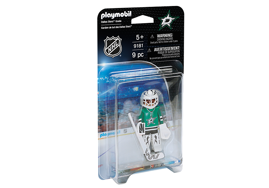 9181 NHL® Dallas Stars™ Goalie detail image 2