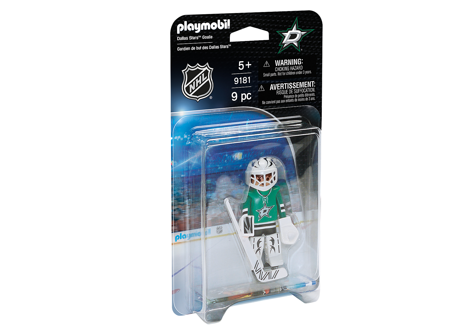 9181 NHL® Dallas Stars™ Goalie zoom image2