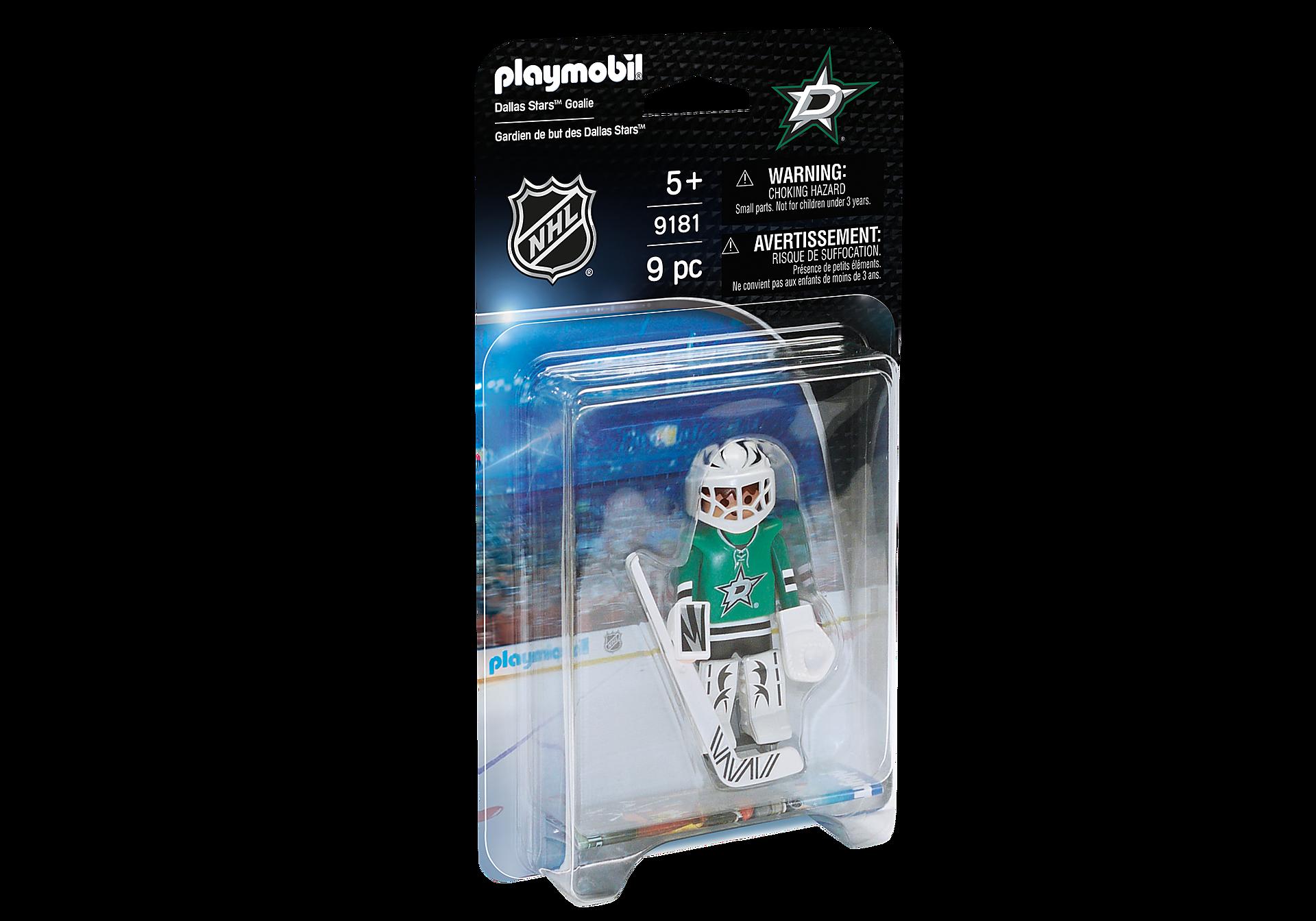 9181 NHL™ Dallas Stars™ Goalie zoom image2
