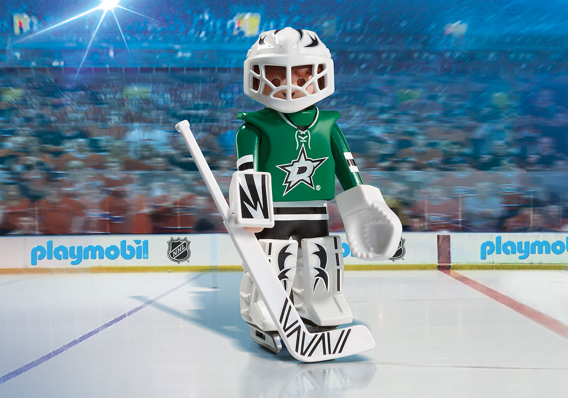 9181 NHL™ Dallas Stars™ Goalie zoom image1