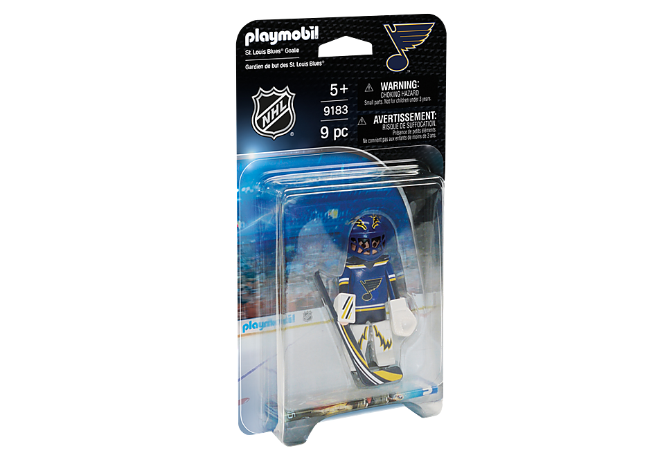 9183 NHL® St. Louis Blues® Goalie detail image 2