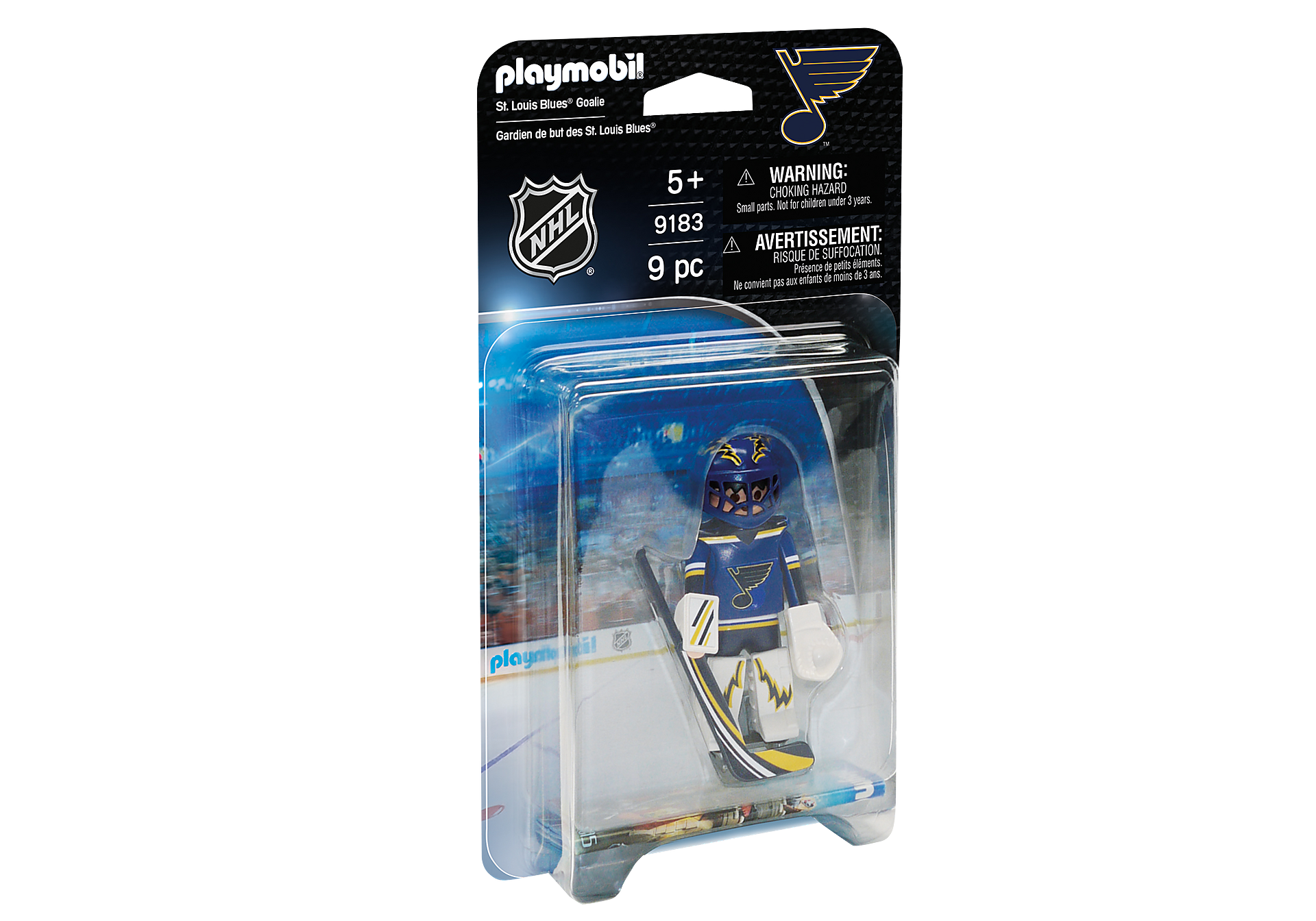 9183 NHL® St. Louis Blues® Goalie zoom image2