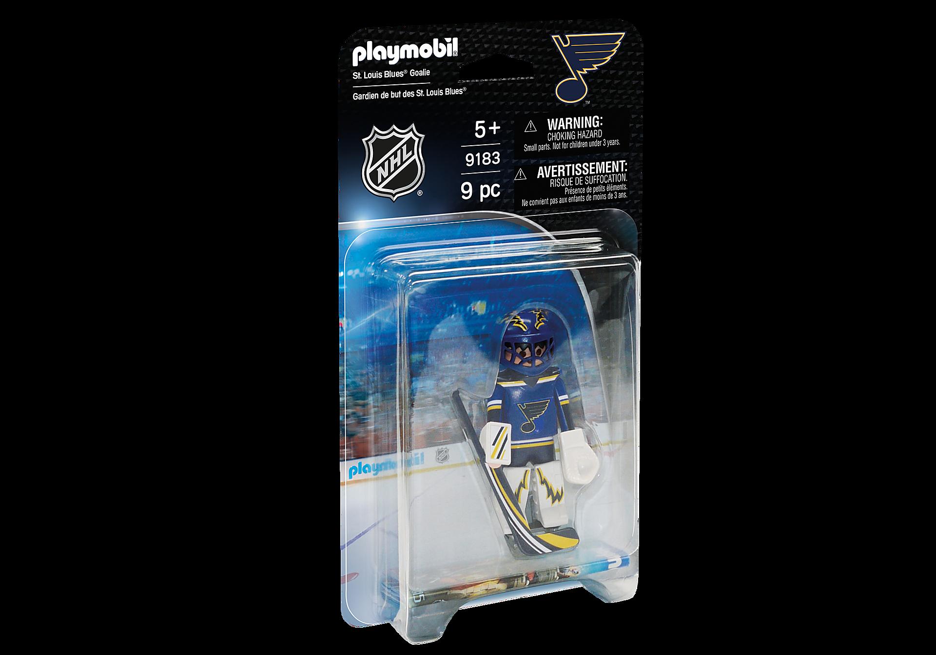 9183 NHL™ St. Louis Blues™ Goalie zoom image2