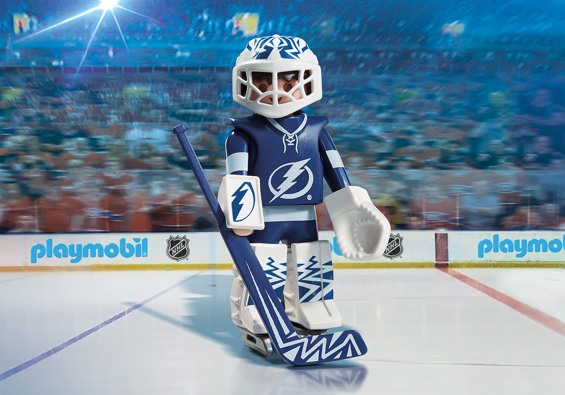 9185 NHL™ Tampa Bay Lightning™ Goalie zoom image1
