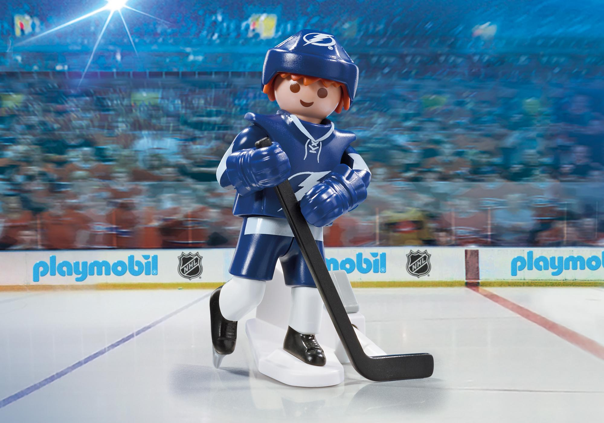 picture about Tampa Bay Lightning Printable Schedule titled NHL® Tampa Bay Lightning® Participant - 9186 - PLAYMOBIL® United states of america