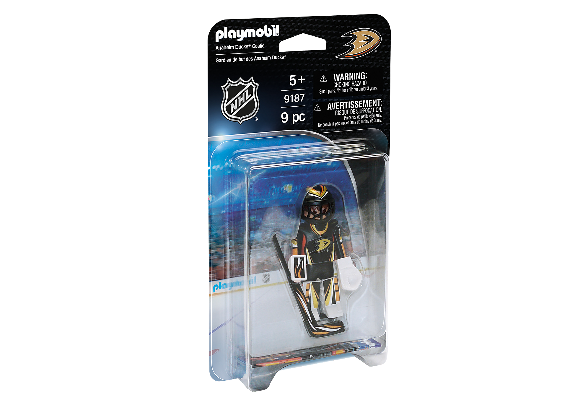 9187 NHL® Anaheim Ducks® Goalie zoom image2