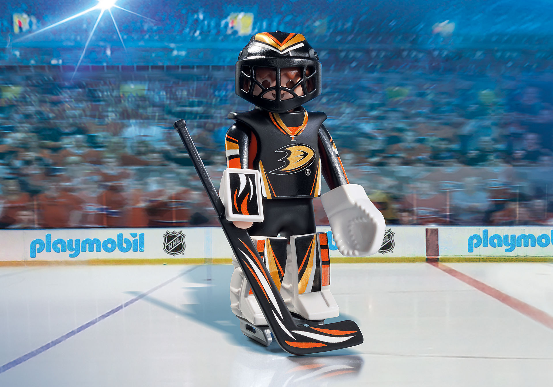 9187 NHL® Anaheim Ducks® Goalie zoom image1