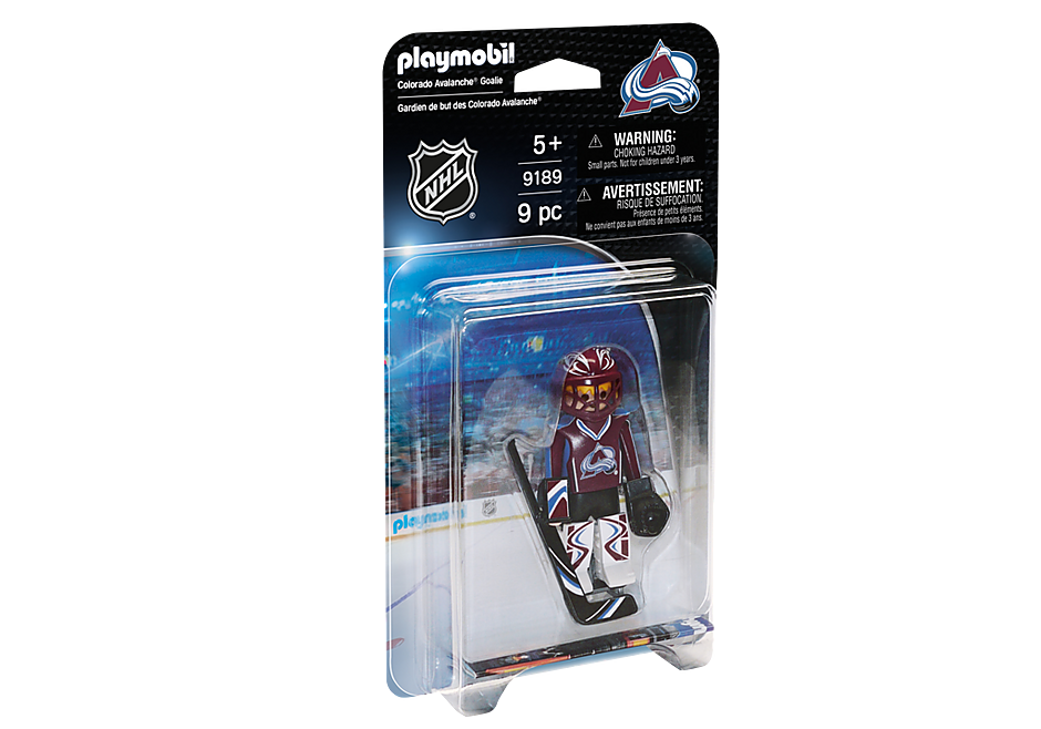 9189 NHL® Colorado Avalanche® Goalie detail image 2