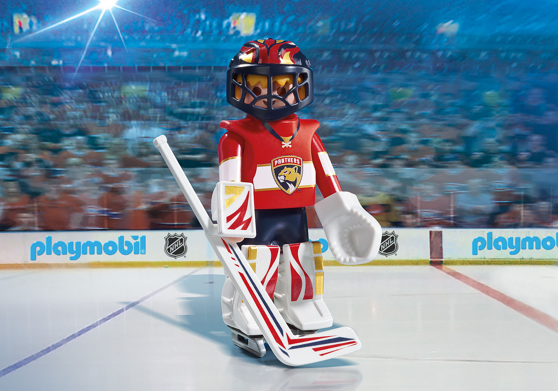 9191 NHL™ Florida Panthers™ Goalie zoom image1