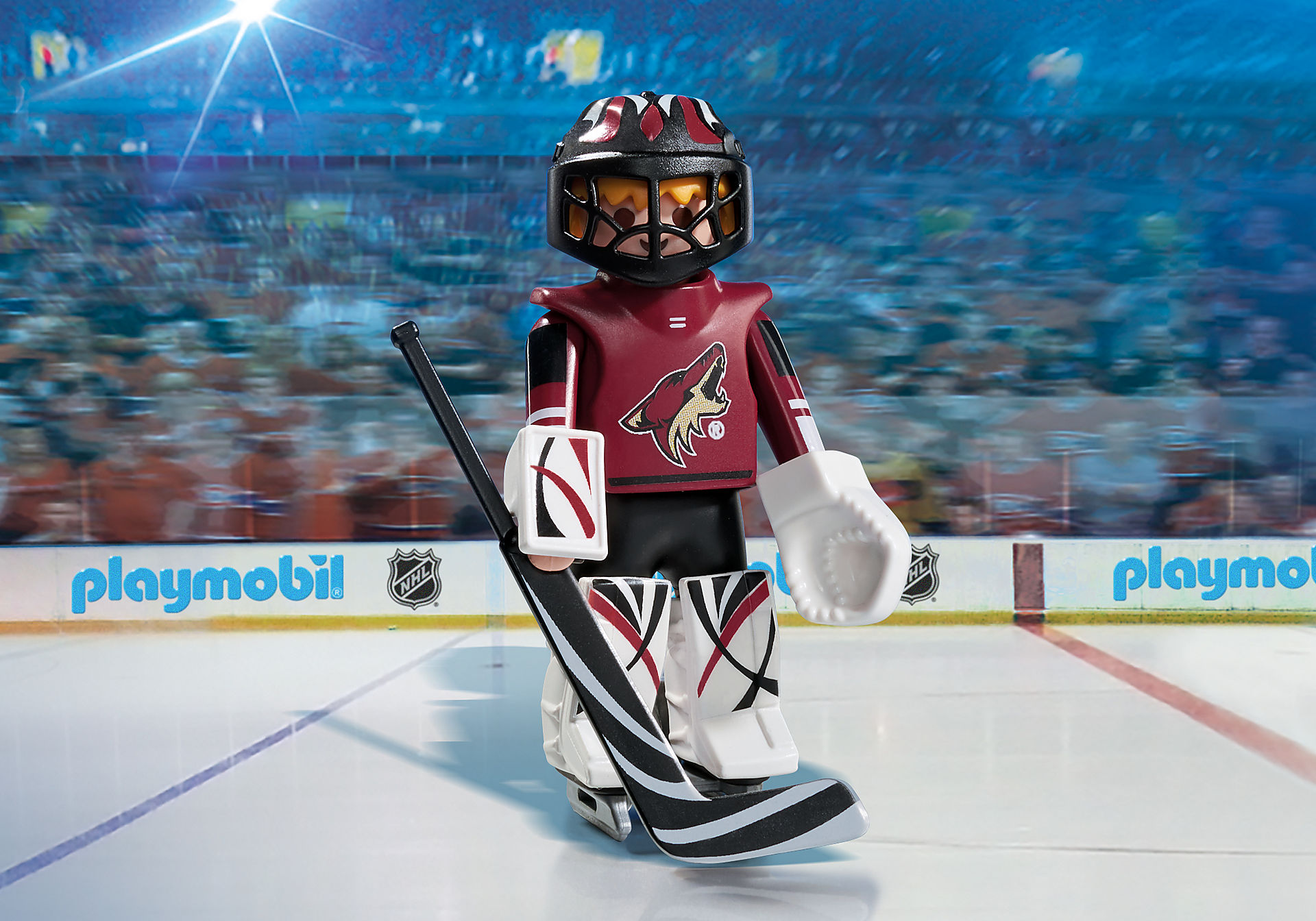 9193 NHL® Arizona Coyotes® Goalie zoom image1