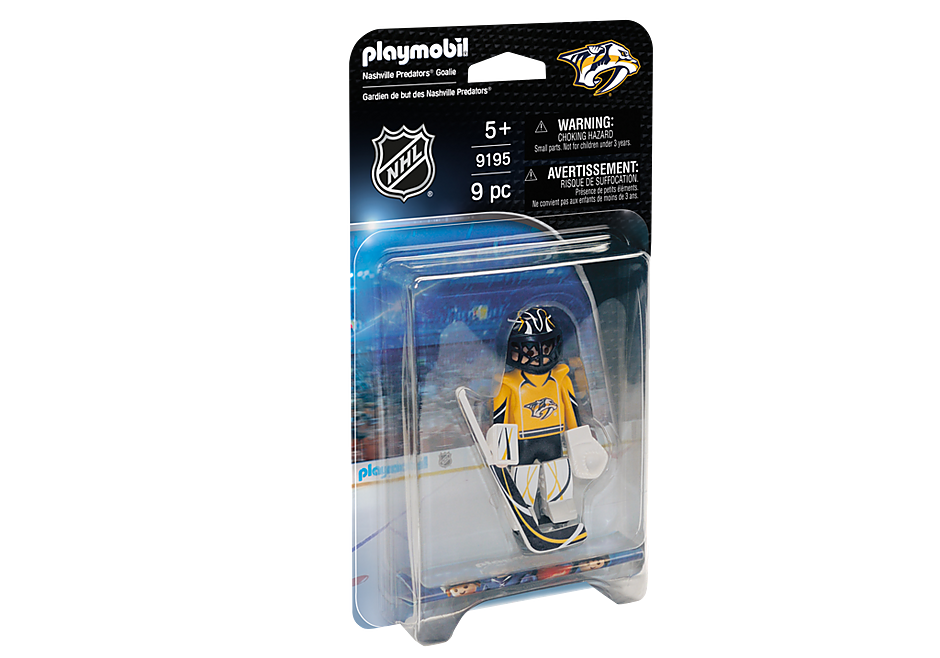 9195 NHL® Nashville Predators® Goalie detail image 2