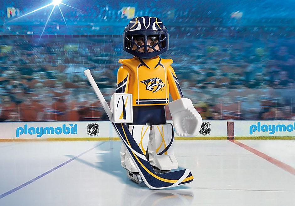 buy online 624b3 5a3ed NHL® Nashville Predators® Goalie - 9195 - PLAYMOBIL® USA