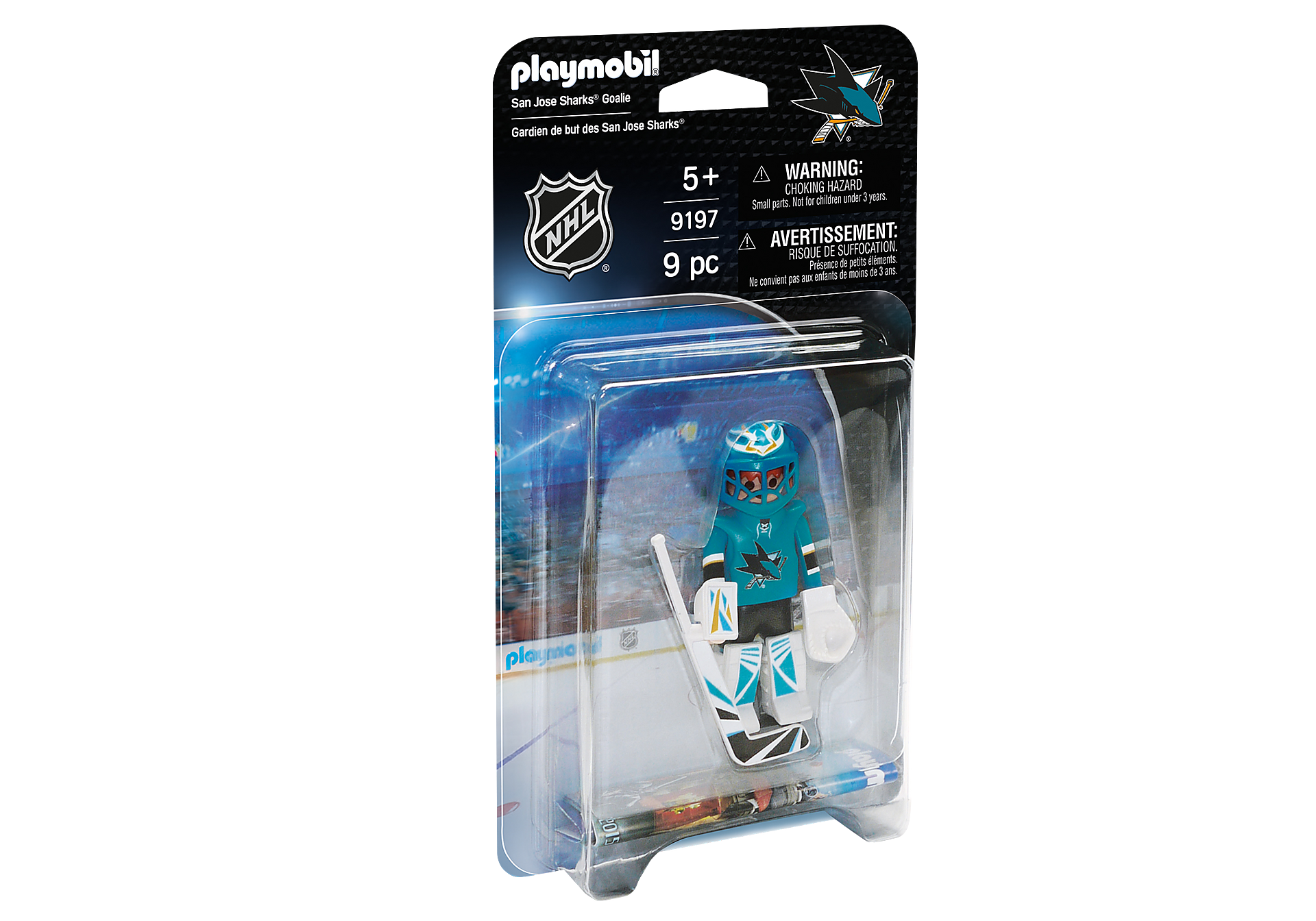 9197 NHL® San Jose Sharks® Goalie zoom image2