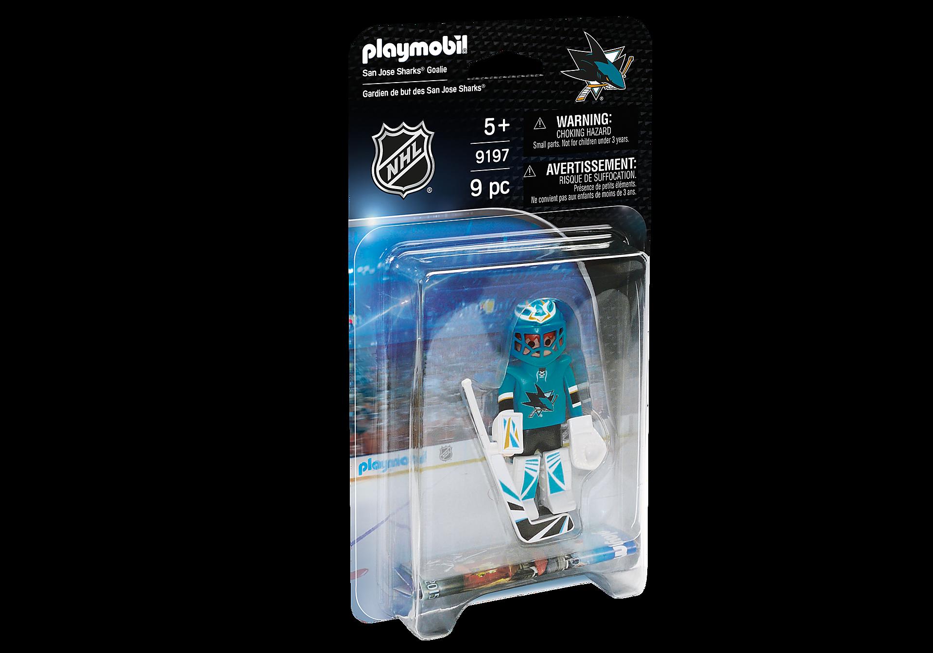9197 NHL® San Jose Sharks® Goalie zoom image2