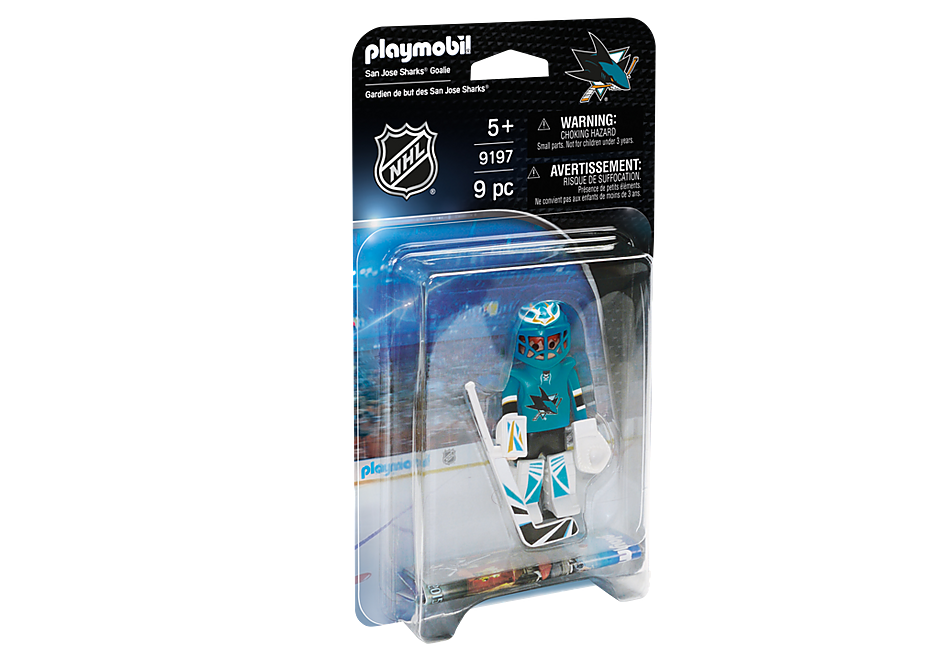 9197 NHL® San Jose Sharks® Goalie detail image 2