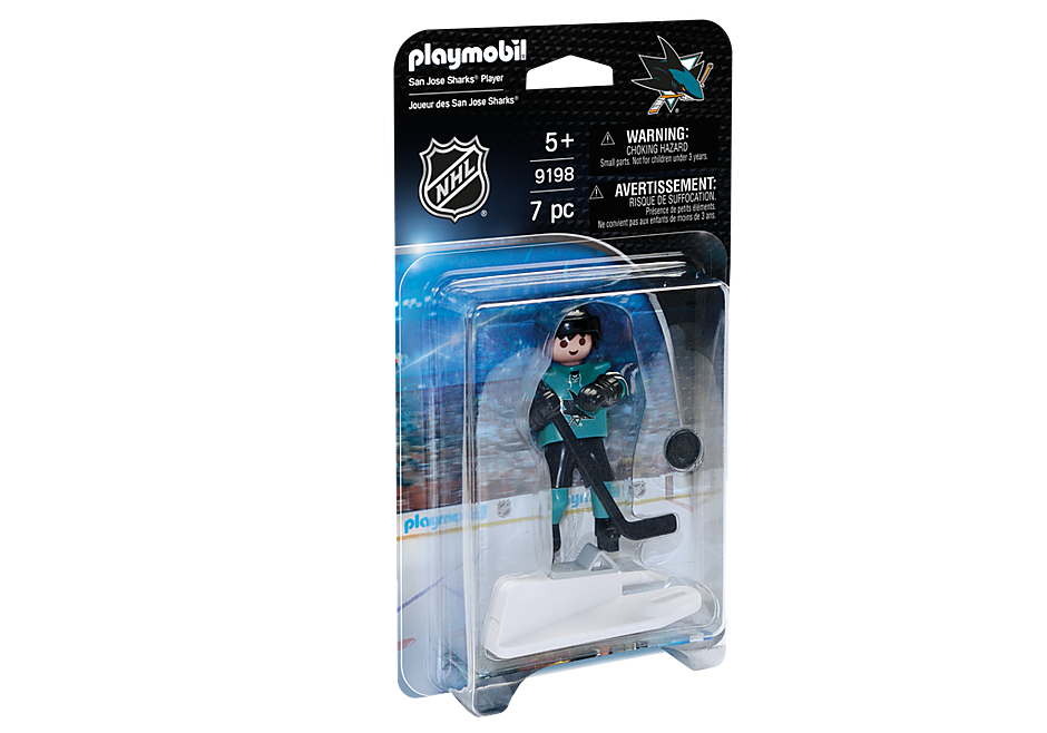 9198 NHL™ San Jose Sharks™ Player detail image 2