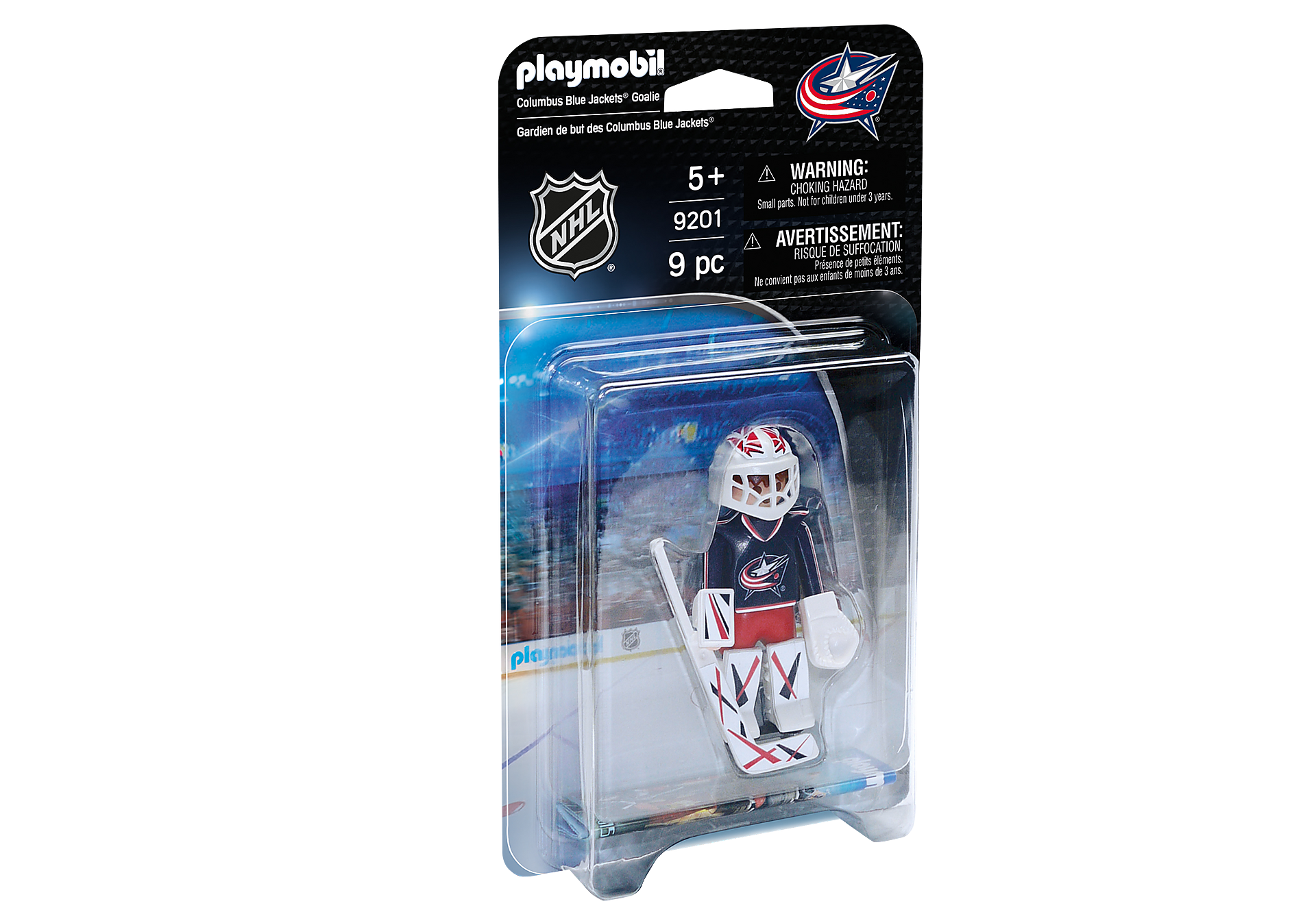 9201 NHL® Columbus Blue Jackets® Goalie zoom image2