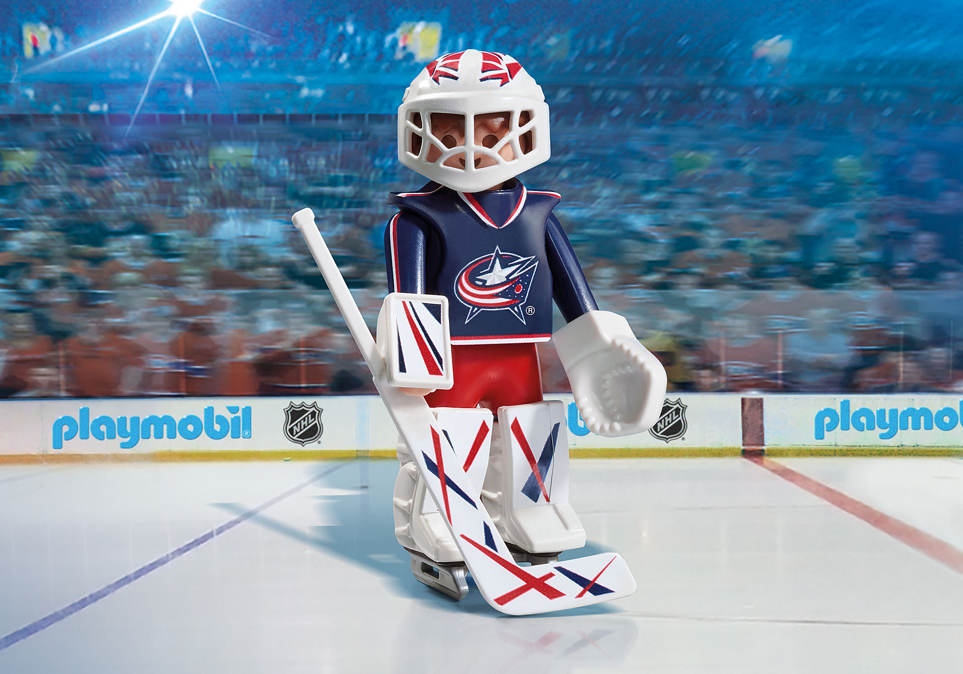 9201 NHL™ Columbus Blue Jackets™ Goalie zoom image1