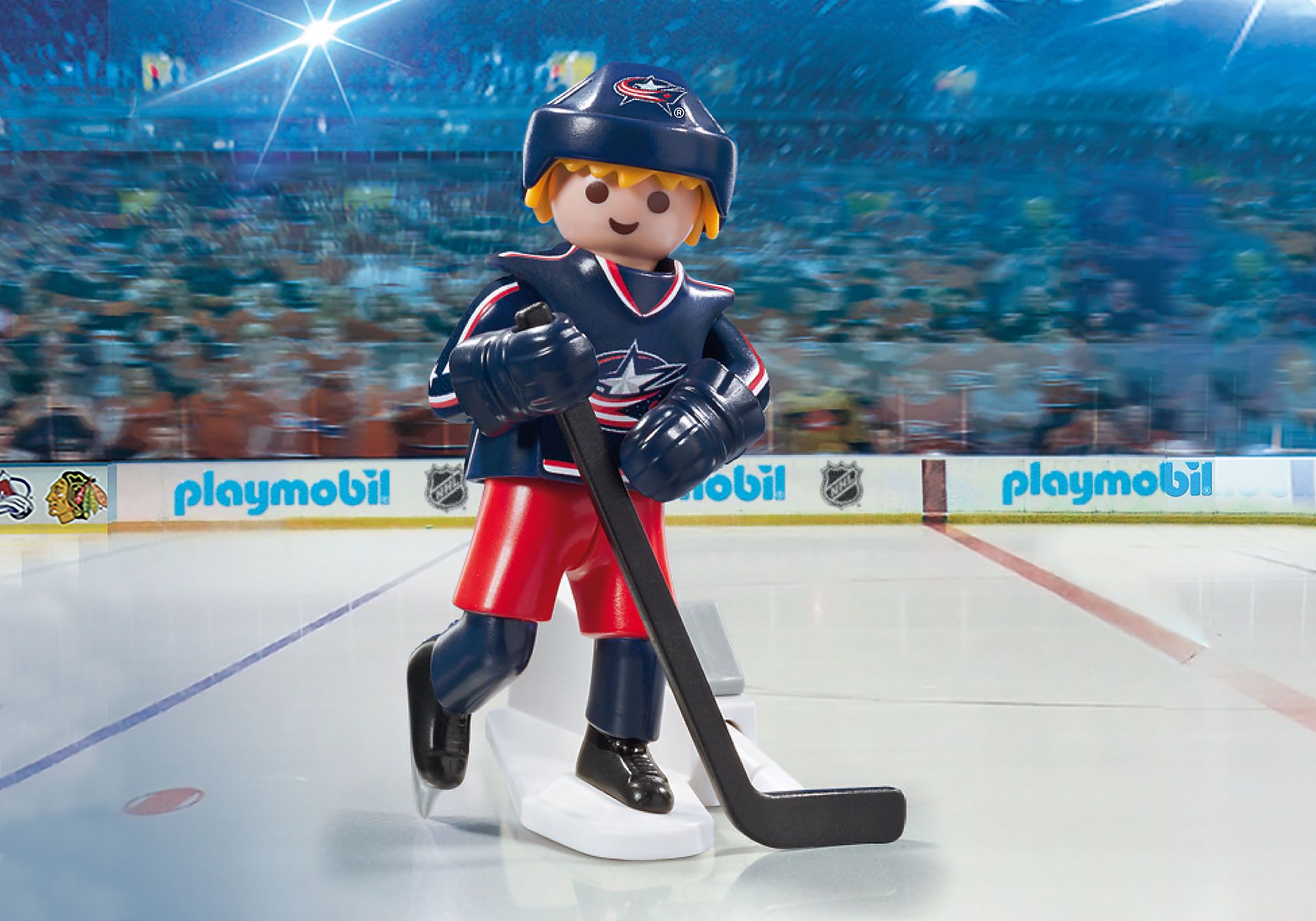 9202 NHL™ Columbus Blue Jackets™ Player zoom image1