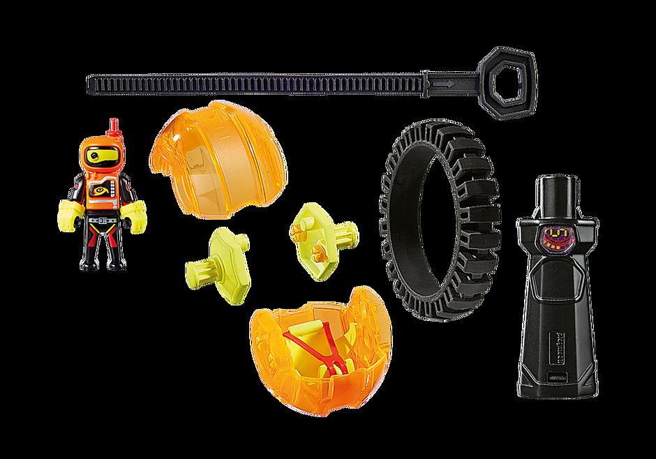 9203 Speed Roller arancio con robot detail image 3