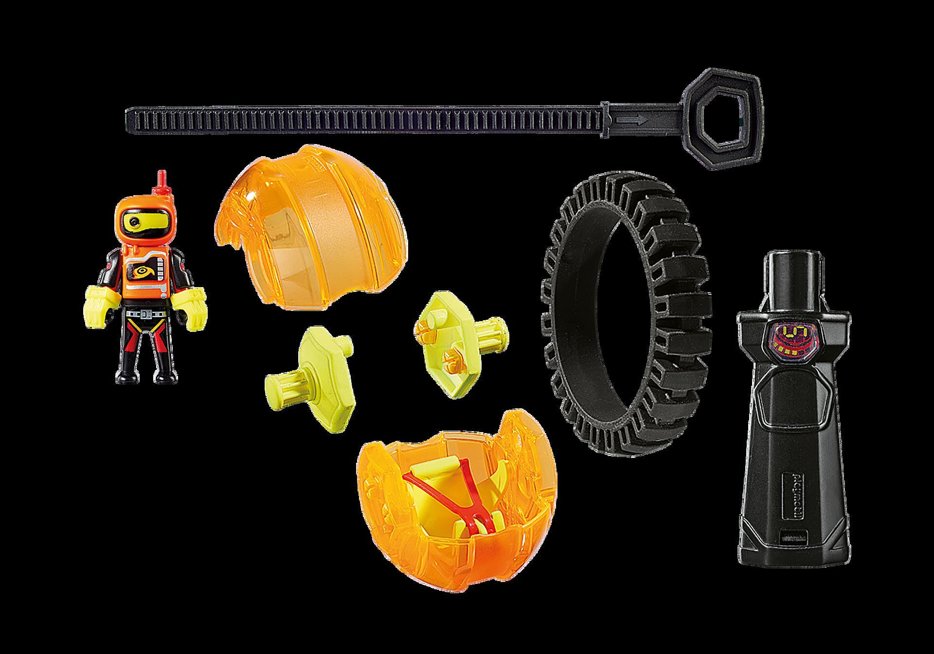 9203 Speed Roller arancio con robot zoom image3
