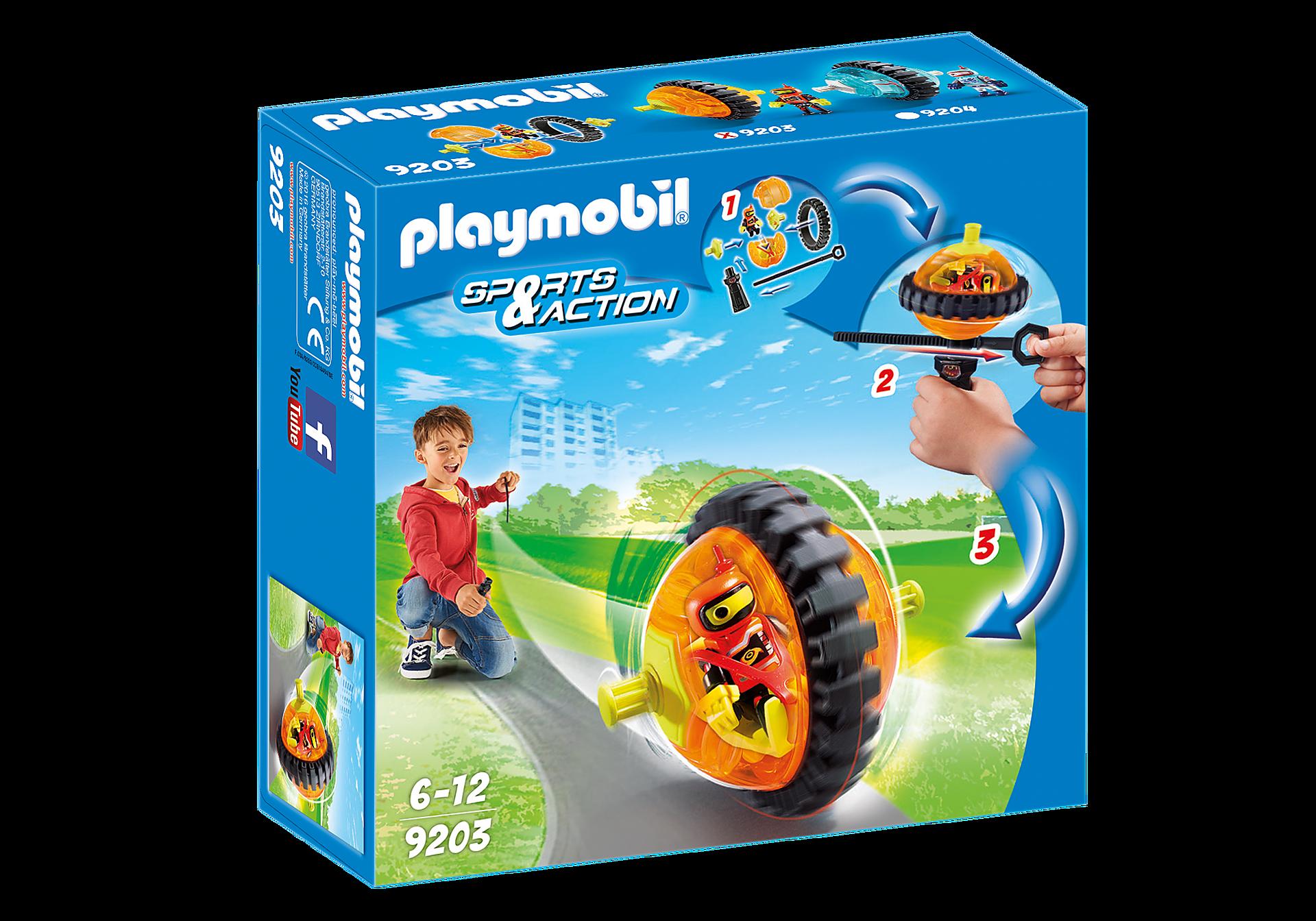 9203 Orange rollerracer zoom image2