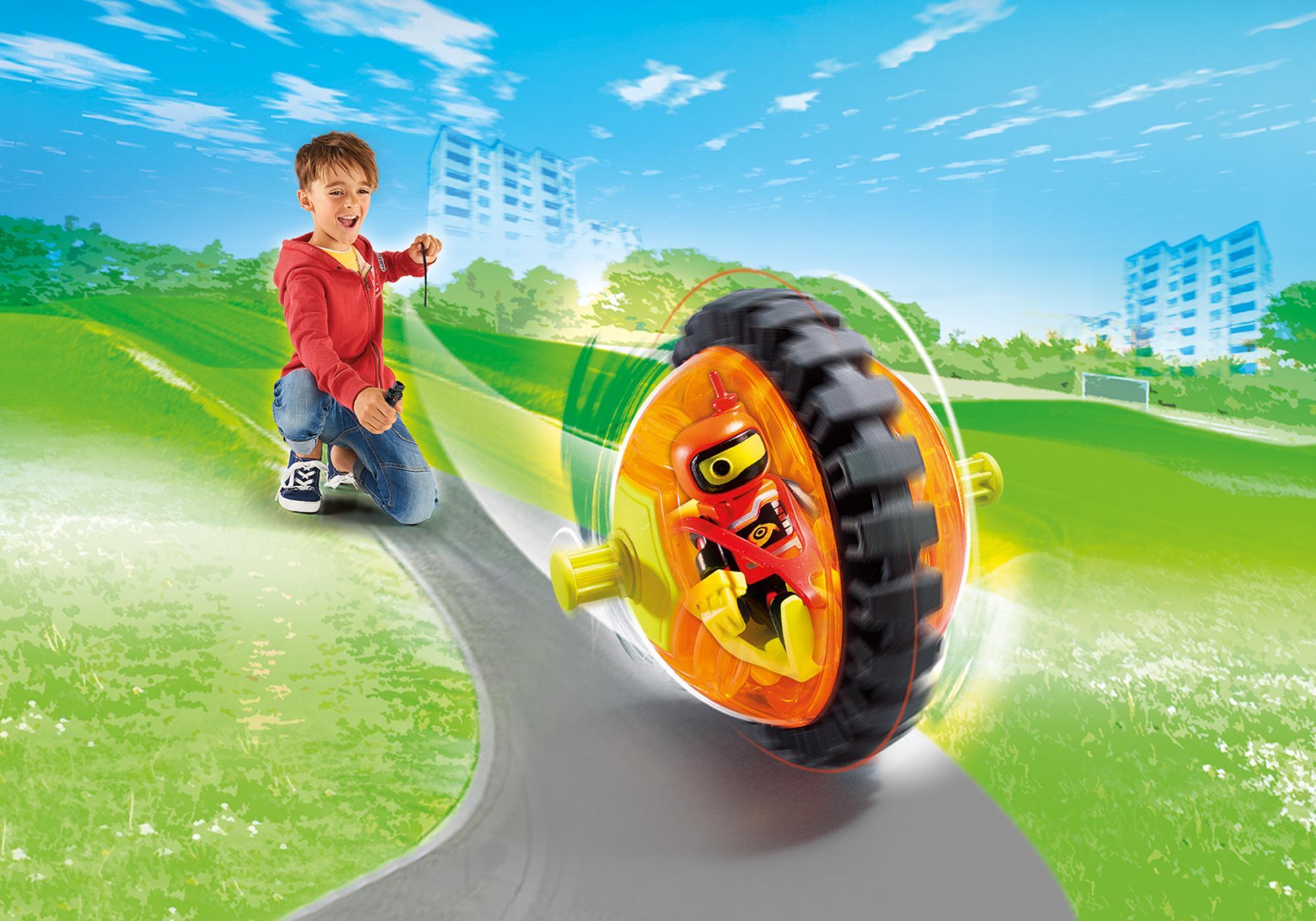 9203_product_detail/Speed Roller arancio con robot