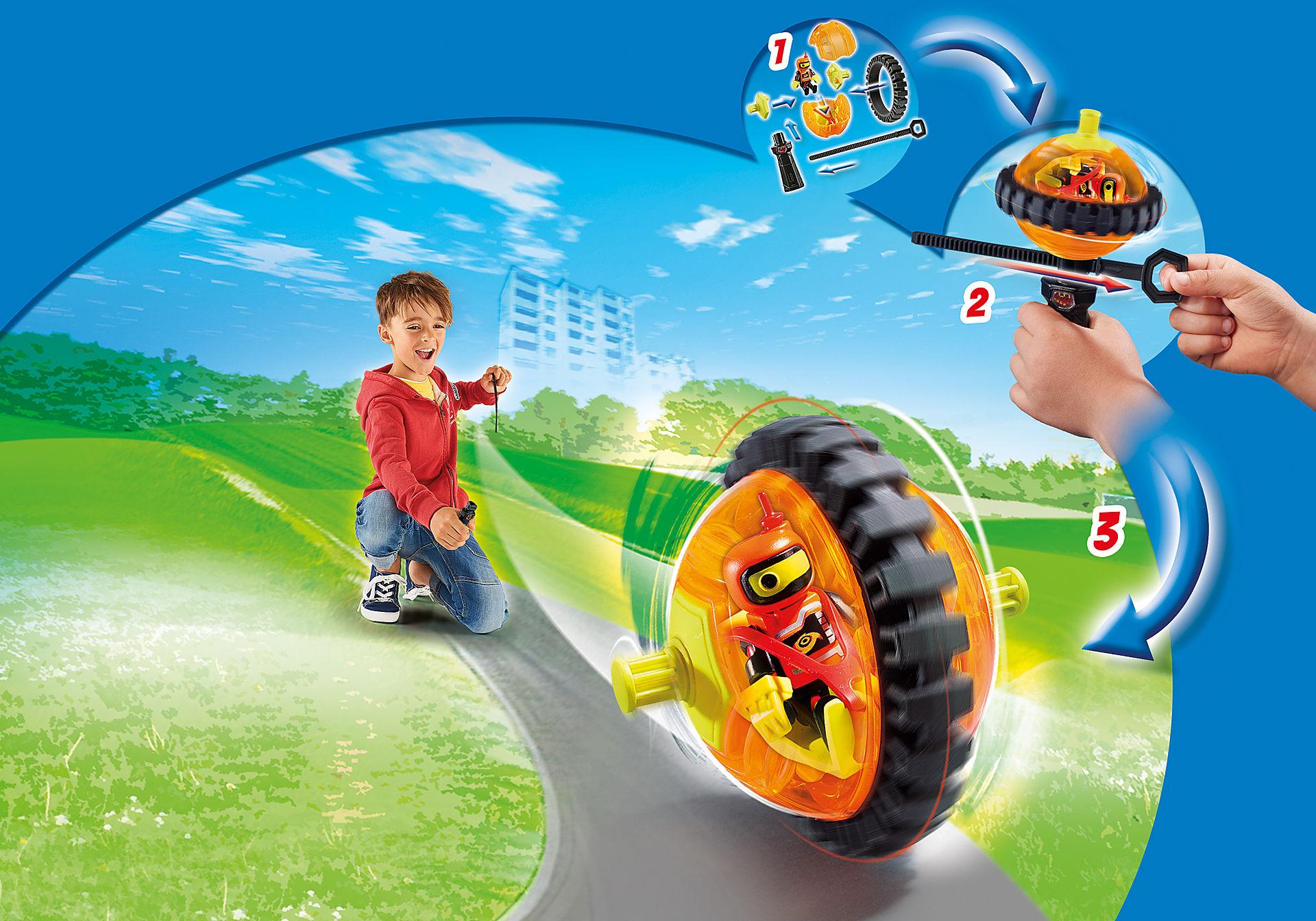 9203 Speed Roller arancio con robot zoom image4