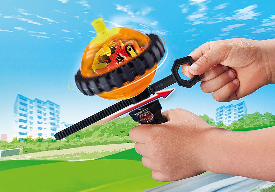 9203 Speed Roller arancio con robot detail image 5